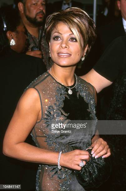 Paula Abdul during 23rd Annual American Music Awards at Shrine Auditorium in Los Angeles California United States