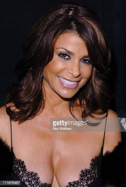 Paula Abdul during 33rd Annual American Music Awards Backstage at Shrine Auditorium in Los Angeles California United States