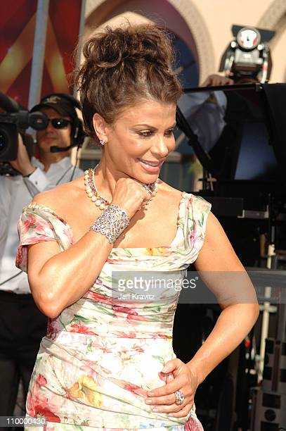 Paula Abdul during 58th Annual Primetime Emmy Awards - Red Carpet at The Shrine Auditorium in Los Angeles, California, United States.