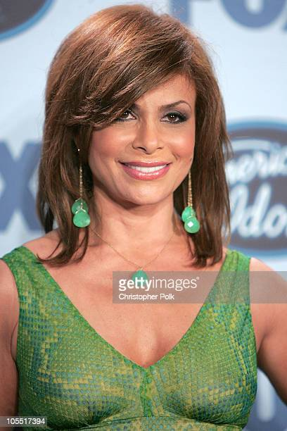 Paula Abdul during 'American Idol' Season 4 Finale Press Room at The Kodak Theatre in Hollywood CA United States