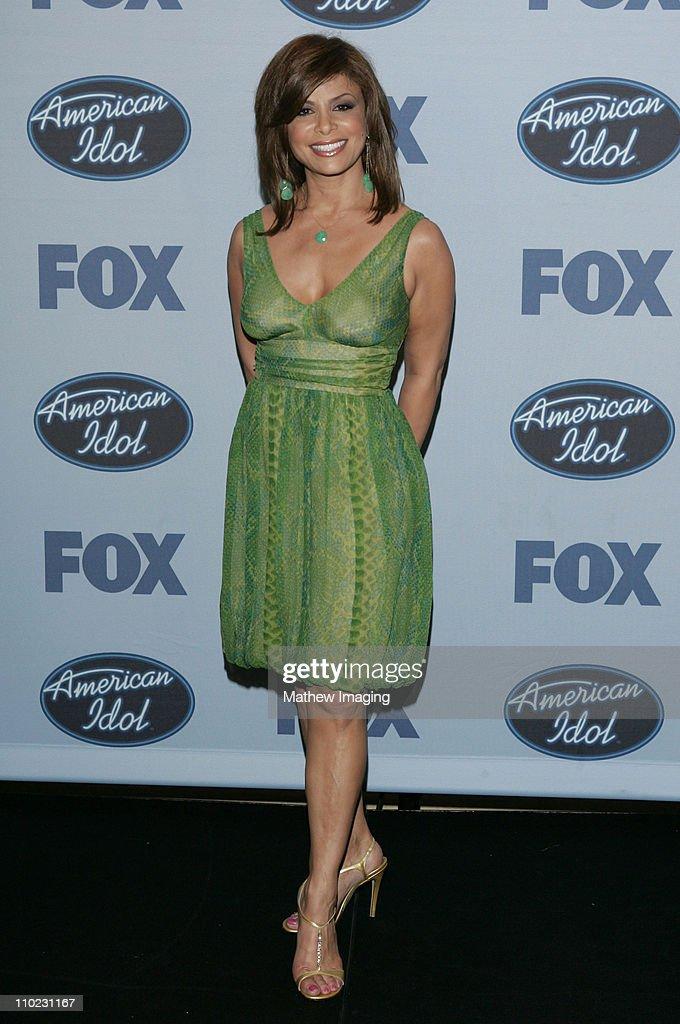 """American Idol"" Season 4 - Finale - Press Room"