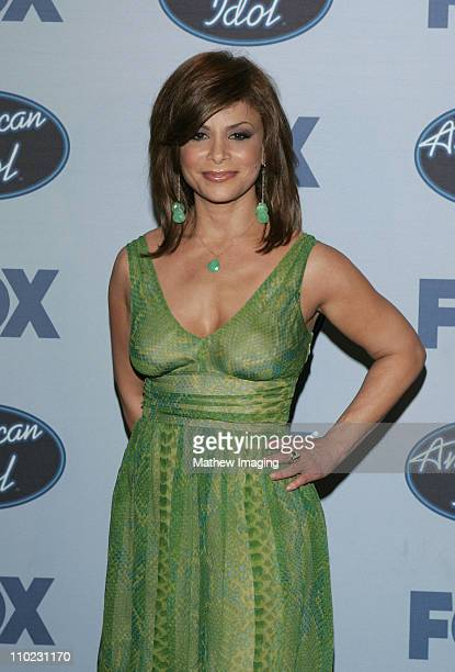 Paula Abdul during 'American Idol' Season 4 Finale Press Room at The Kodak Theatre in Hollywood CA United States