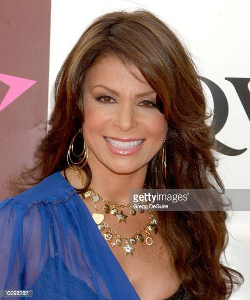 Paula Abdul during Paula Abdul And QVC Join Forces For A Live Television Broadcast For The Paula Abdul Jewelry Collection Arrivals at Hollywood...