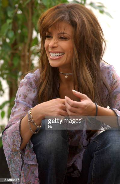 Paula Abdul during Paula Abdul on the Set of VH1's 'Rock The House' at Private Residence in Los Angeles California United States