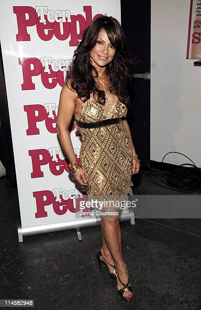 Paula Abdul during Teen People Present 'Best of Fall 2006' at Industria in New York City, New York, United States.