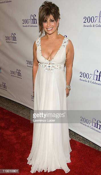 Paula Abdul during The 35th Annual FIFI Awards May 31 2007 at The Winter Garden in New York City New York United States