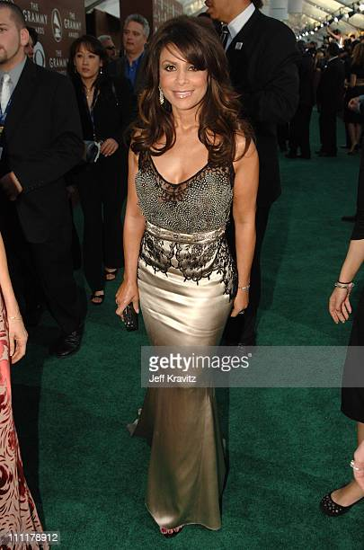 Paula Abdul during The 48th Annual GRAMMY Awards Green Carpet at Staples Center in Los Angeles California United States