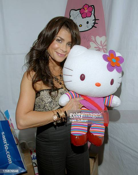 Paula Abdul in My Scene Fab Faces Dolls Celebrity Retreat Produced by Backstage Creations at the 2006 Teen Choice Awards