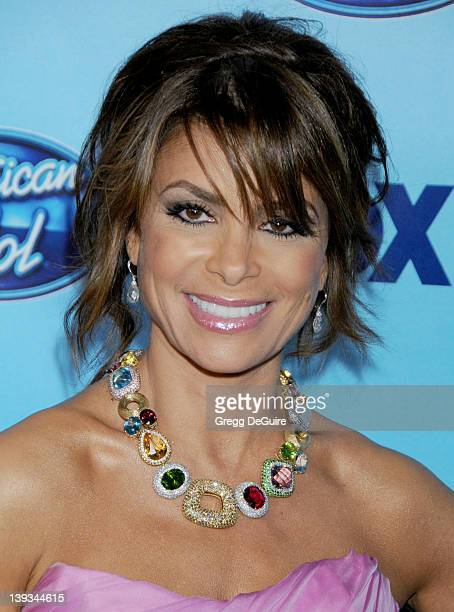 Paula Abdul in the press room at the American Idol Season 8 Finale held at the Nokia Theatre LA Live on May 20 2009 in Los Angeles California