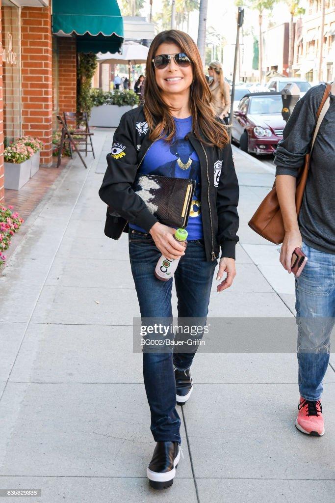 Paula Abdul is seen on August 18, 2017 in Los Angeles, California.