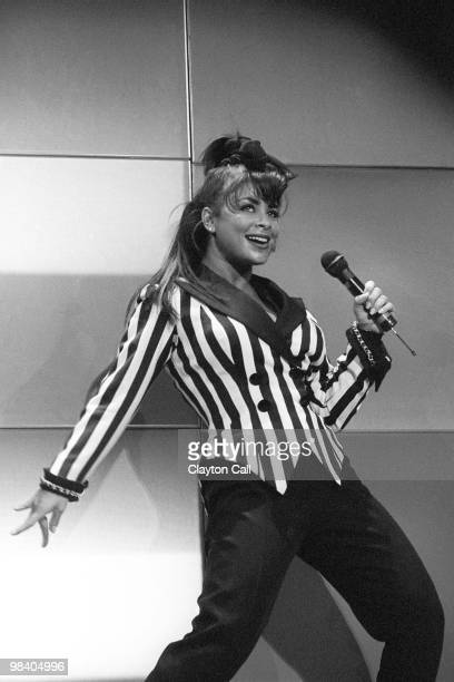 Paula Abdul performing at the Oakland Coliseum Arena on December 13 1991