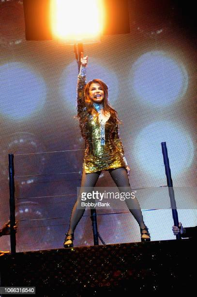 Paula Abdul performs during her Straight Up Paula Tour at St George Theater on November 28 2018 in New York City
