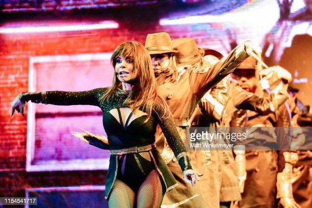 Paula Abdul performs during the LA Pride 2019 on June 07, 2019 in West Hollywood, California.