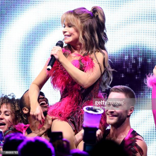 Paula Abdul performs onstage during the 2019 Baby2Baby Gala presented by Paul Mitchell on November 09 2019 in Los Angeles California