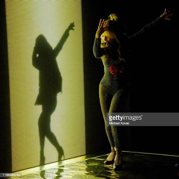 Paula Abdul performs onstage during the 2019 Baby2Baby Gala presented by Paul Mitchell on November 09, 2019 in Los Angeles, California.