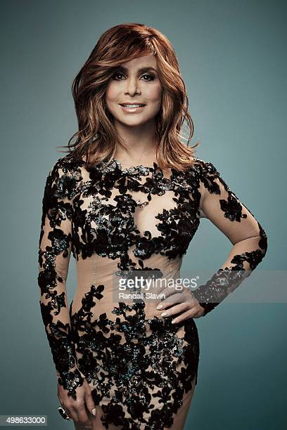 Paula Abdul poses for a portrait at the 2015 American Music Awards on November 22 2015 in Los Angeles California