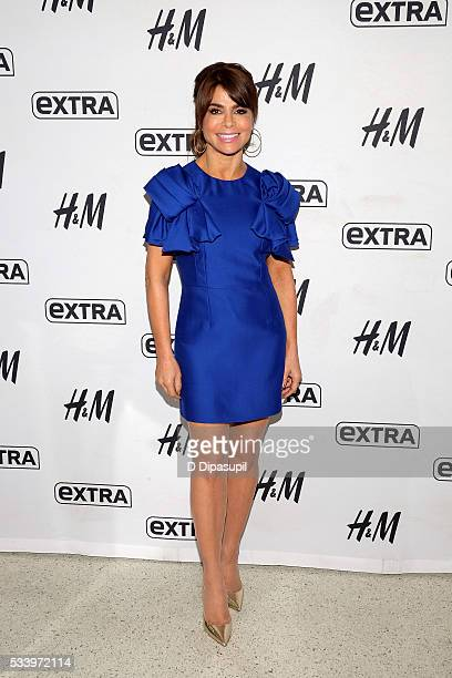 Paula Abdul visits 'Extra' at their New York studios at HM in Times Square on May 24 2016 in New York City