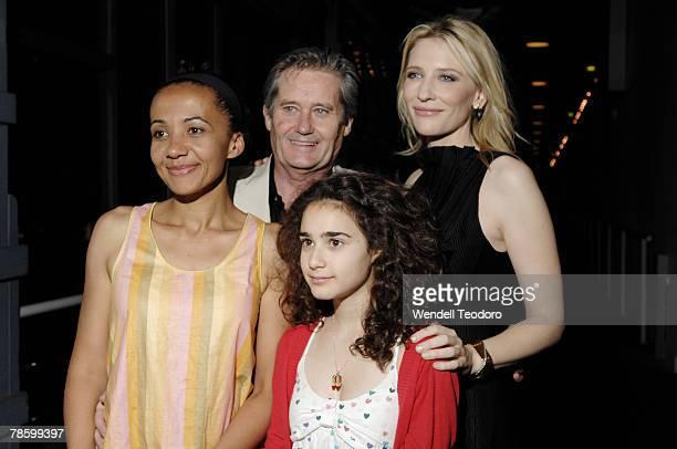 Paula Arundell Peter Kowitz Danielle Catanzariti and Cate Blanchett attend the opening night of 'Blackbird' at the Sydney Theatre Company December 20...