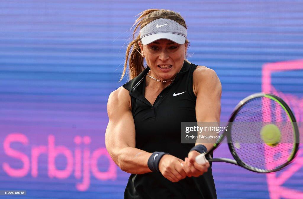 Paula Badosa v Ana Konjuh - WTA Belgrade Ladies Open Final : ニュース写真