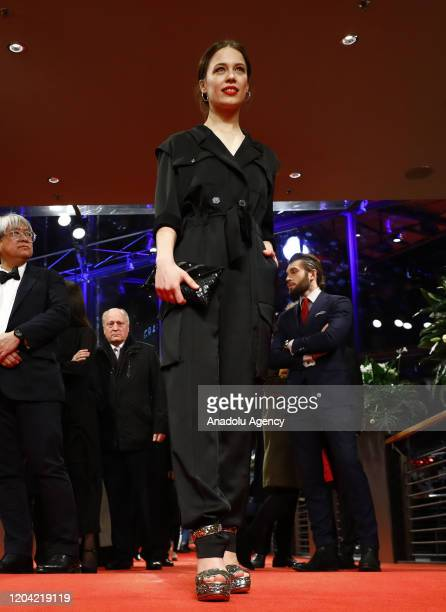 Paula Beer attends the award ceremony of 70th Berlinale International Film Festival in Berlin Germany on February 29 2020