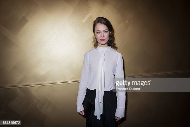 Paula Beer attends the Cesar Revelations 2017' photocall at the Salon Chaumet on January 16 2017 in Paris France