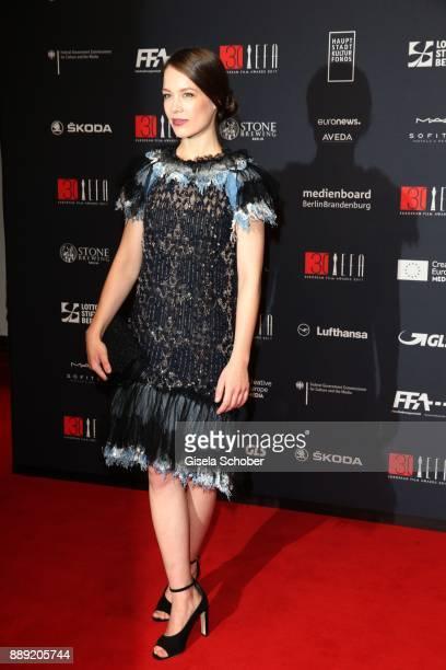 Paula Beer during the 30th European Film Awards 2017 at 'Haus der Berliner Festspiele' on December 9 2017 in Berlin Germany