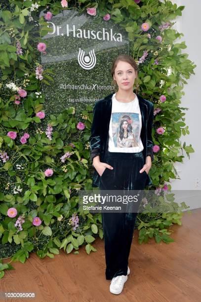 Paula Beer with Dr Hauschka Makeup attends German Films X Dr Hauschka Reception at the 43rd Toronto International Film Festival on September 9 2018...