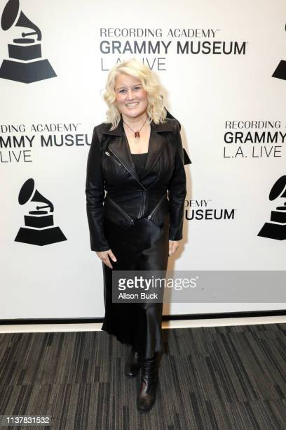 Paula Cole attends The Drop Paula Cole at GRAMMY Museum on April 17 2019 in Los Angeles California