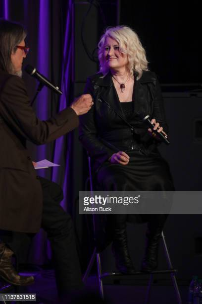 Paula Cole speaks onstage during The Drop Paula Cole on April 17 2019 in Los Angeles California