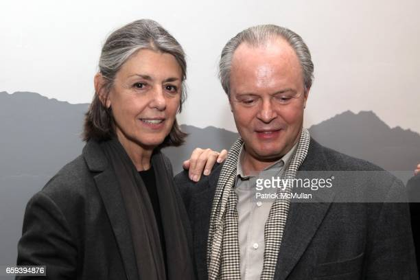 Paula Cooper and Julian Lethbridge attend X INITIATIVE Honors Paula Cooper and John Richardson at X Initiative on September 30 2009 in New York City