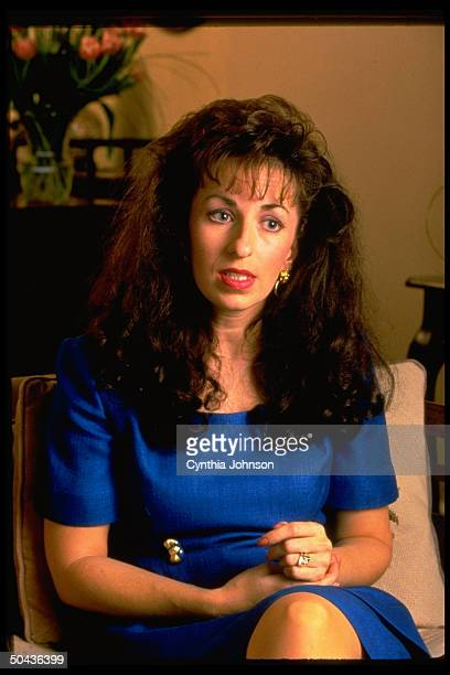 Paula Corbin Jones former AK clerical worker bringing sexual harassment suit against Pres Clinton for alleged sexual advances made when he was gov of...
