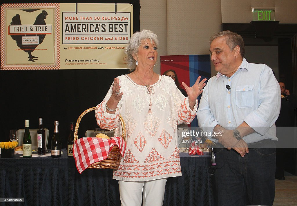 Paula Deen And Founder Of The Food Network South Beach Wine Food