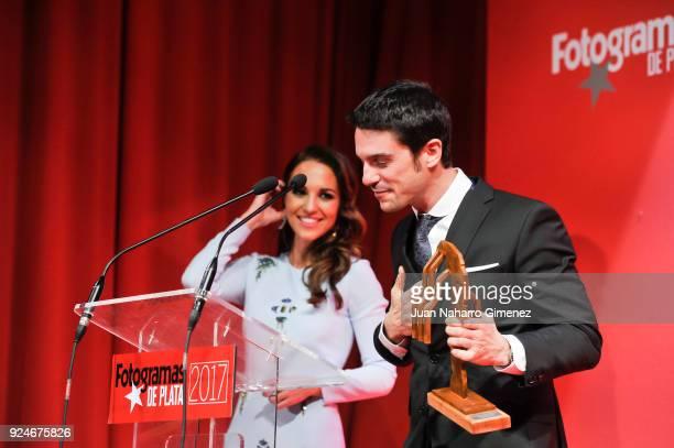 Paula Echevarria and Alejo Sauras attends 'Fotogramas Awards' gala at Joy Eslava on February 26 2018 in Madrid Spain