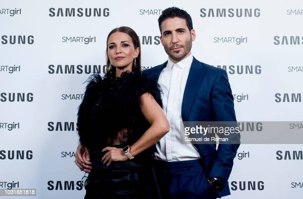 Paula Echevarria and Miguel Angel Silvestre present new Samsung Galaxy Watch on September 11, 2018 in Madrid, Spain.