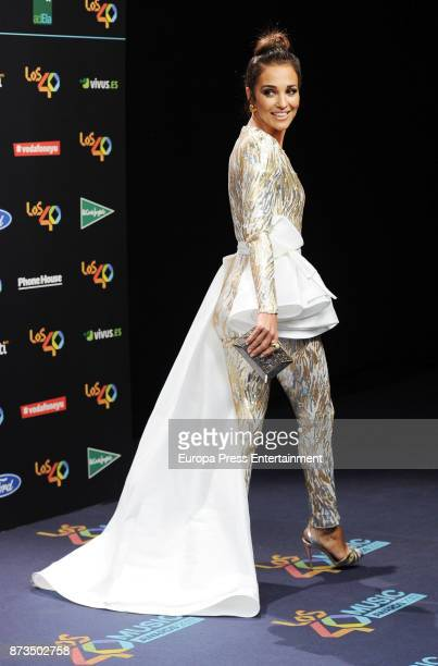 Paula Echevarria attends '40 Principales Awards' 2017 on November 10 2017 in Madrid Spain