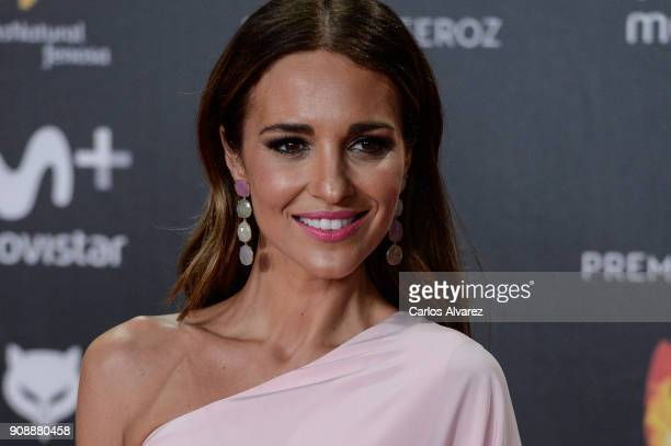 Paula Echevarria attends Feroz Awards 2018 at Magarinos Complex on January 22 2018 in Madrid Spain