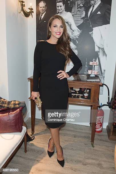 Paula Echevarria attends the 'Dolores Promesas' Opening Store in Paris on October 31 2014 in Paris France