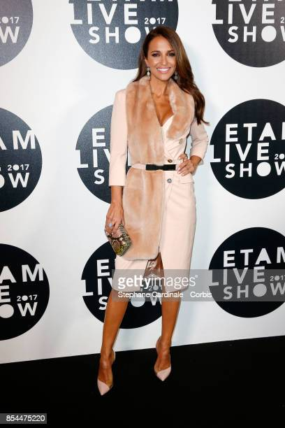 Paula Echevarria attends the Etam show as part of the Paris Fashion Week Womenswear Spring/Summer 2018 at on September 26 2017 in Paris France