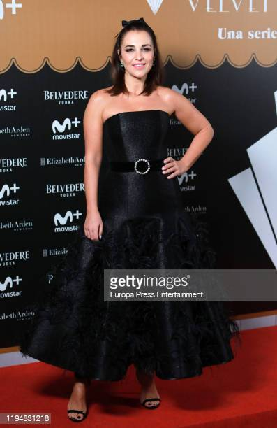 Paula Echevarria attends 'Velvet Collection' photocall at Teatro Barcelo on December 18 2019 in Madrid Spain