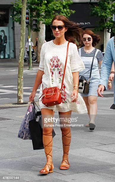 Paula Echevarria is seen on June 23 2015 in Madrid Spain