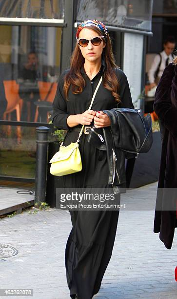 Paula Echevarria is seen on March 4 2015 in Madrid Spain