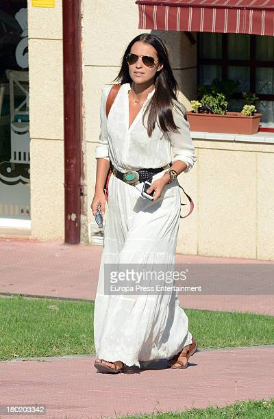 Paula Echevarria is seen on September 9 2013 in Madrid Spain