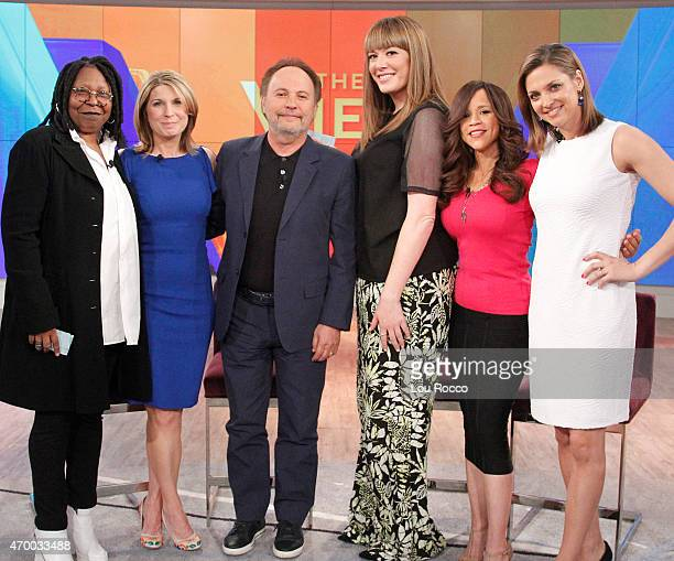 THE VIEW Paula Faris and Michelle Collins guest cohost Guests include Billy Crystal and Gabriel Iglesias today Thursday April 16 2015 on Walt Disney...