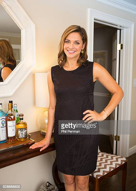 Paula Faris at home in Larchmont New York