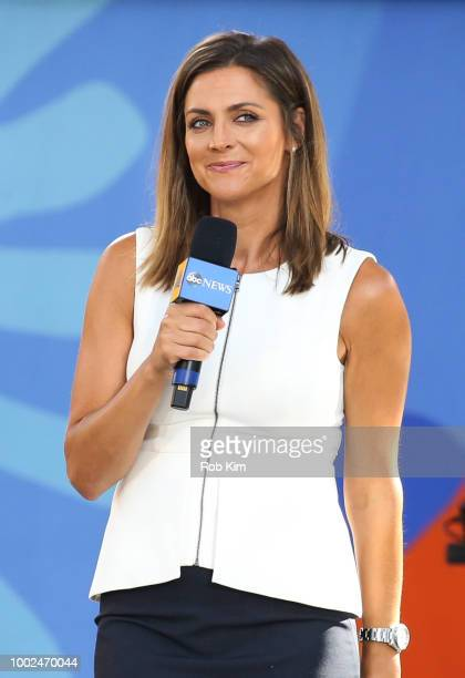 Paula Faris of ABC's 'Good Morning America' at SummerStage at Rumsey Playfield Central Park on July 20 2018 in New York City