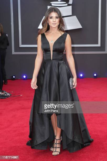 Paula Fernandes attends the 20th annual Latin GRAMMY Awards at MGM Grand Garden Arena on November 14 2019 in Las Vegas Nevada