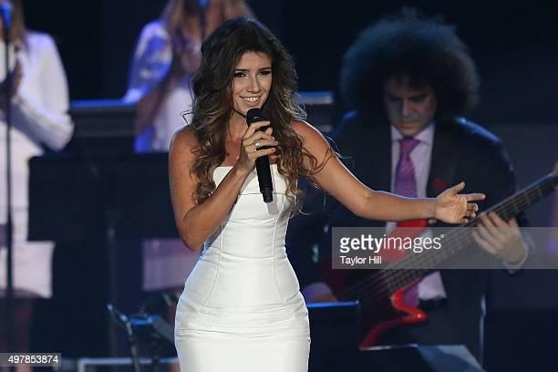 Paula Fernandes performs during the 2015 Person Of The Year honoring Roberto Carlos on November 18 2015 at Mandalay Bay in Las Vegas Nevada