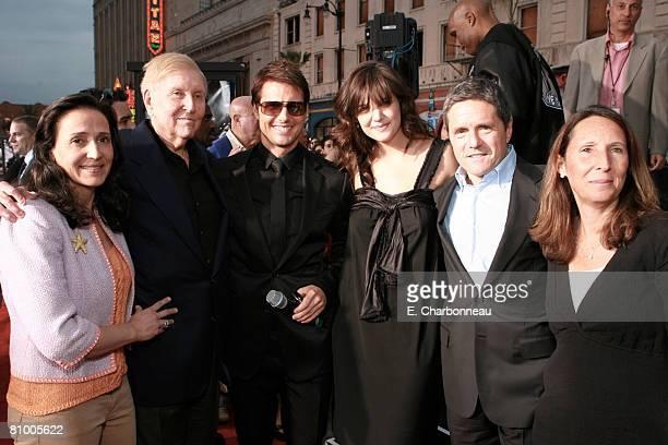 Paula Fortunato Viacom's Sumner Redstone Tom Cruise Katie Holmes Paramount's Brad Grey and Jill Grey