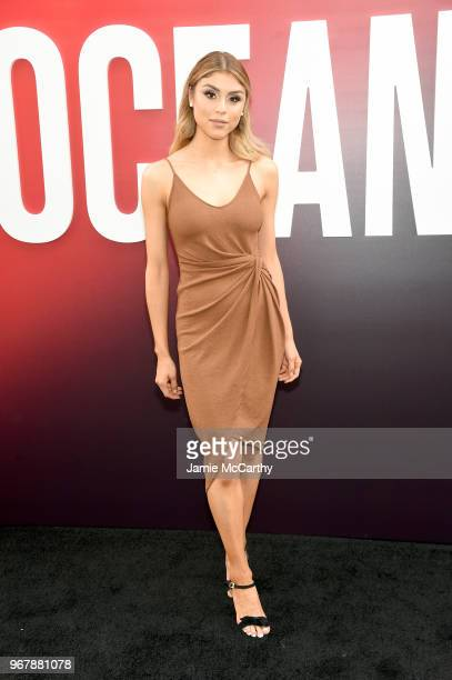 Paula Galindo attends the 'Ocean's 8' World Premiere at Alice Tully Hall on June 5 2018 in New York City