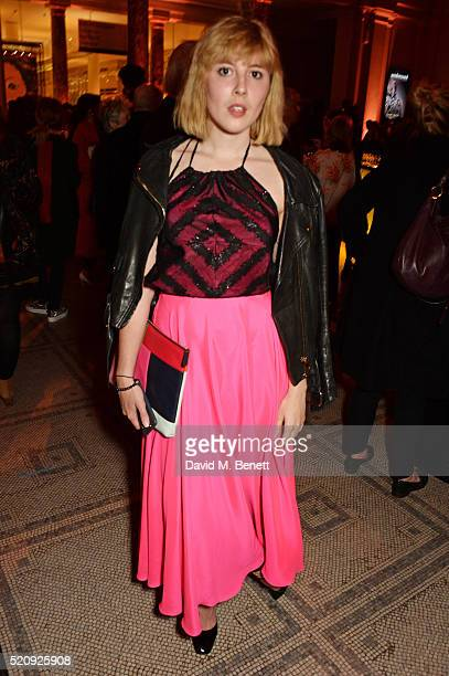 Paula Goldstein attends a private view of new exhibition Undressed A Brief History Of Underwear at The VA on April 13 2016 in London England
